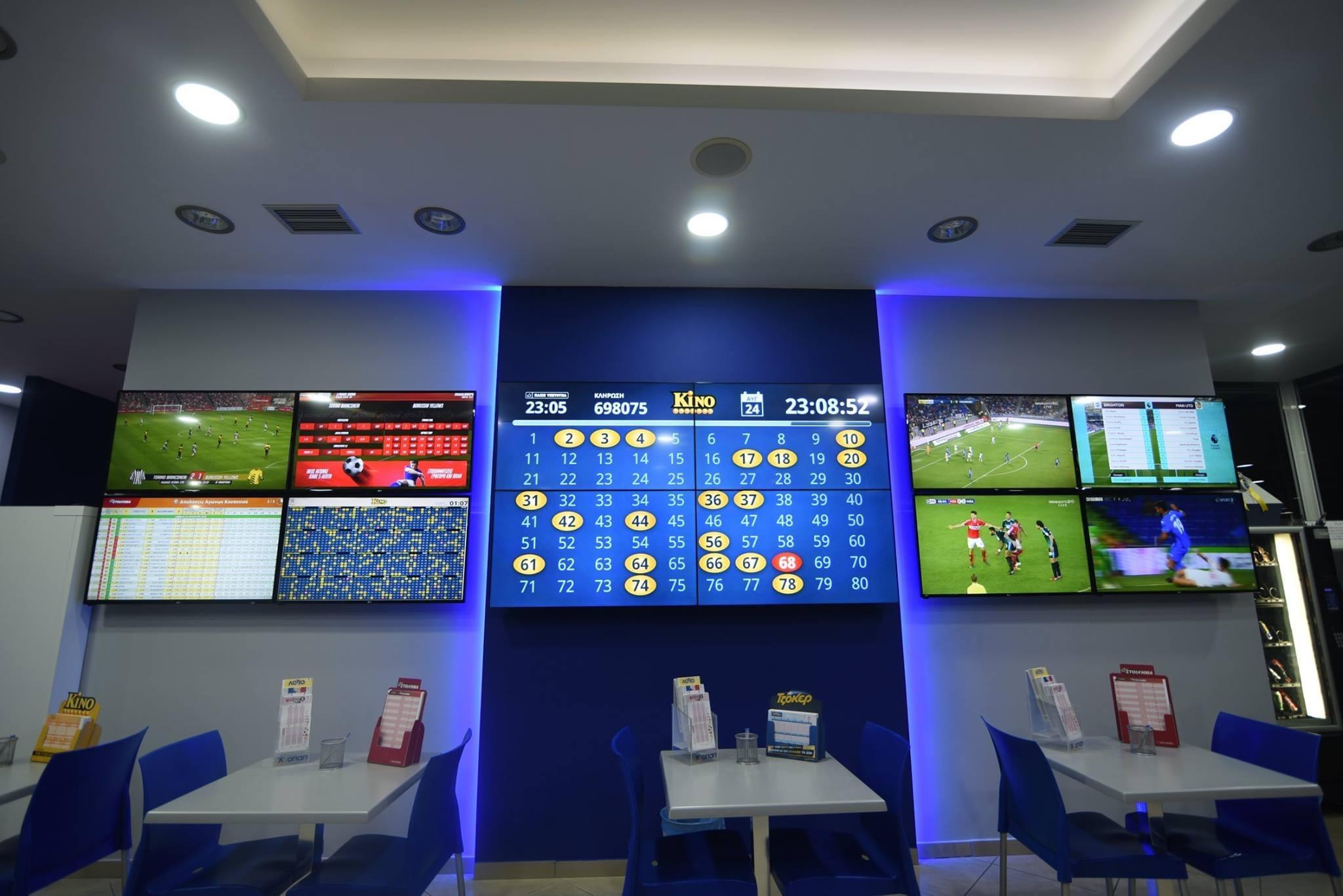 video wall LG Hellas