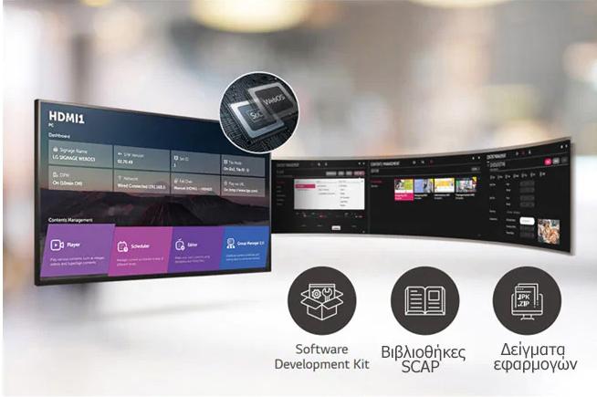 επίσημοι συνεργάτες LG Hellas εξοπλισμός πρακτορείου οπαπ