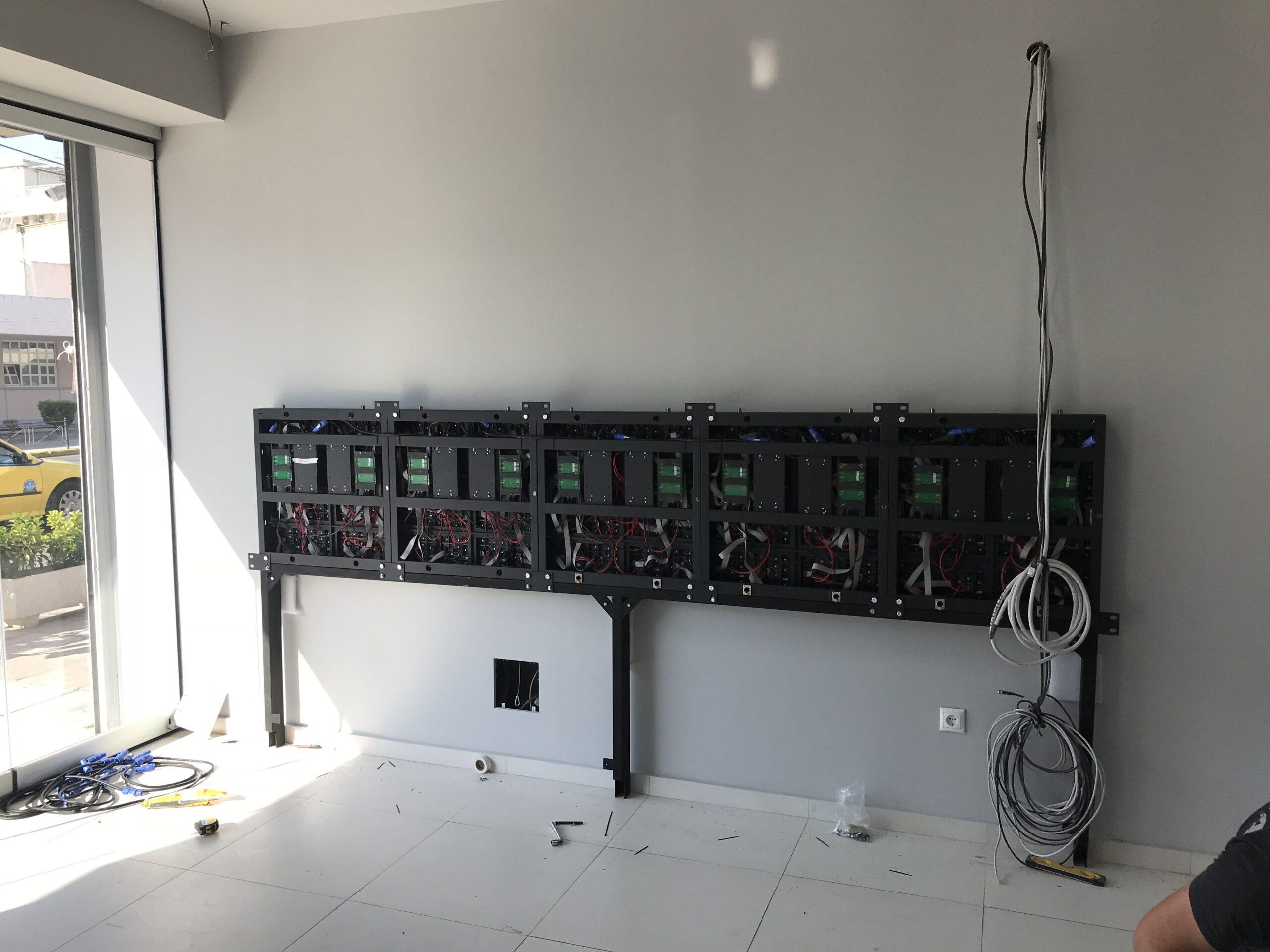led wall LG Hellas