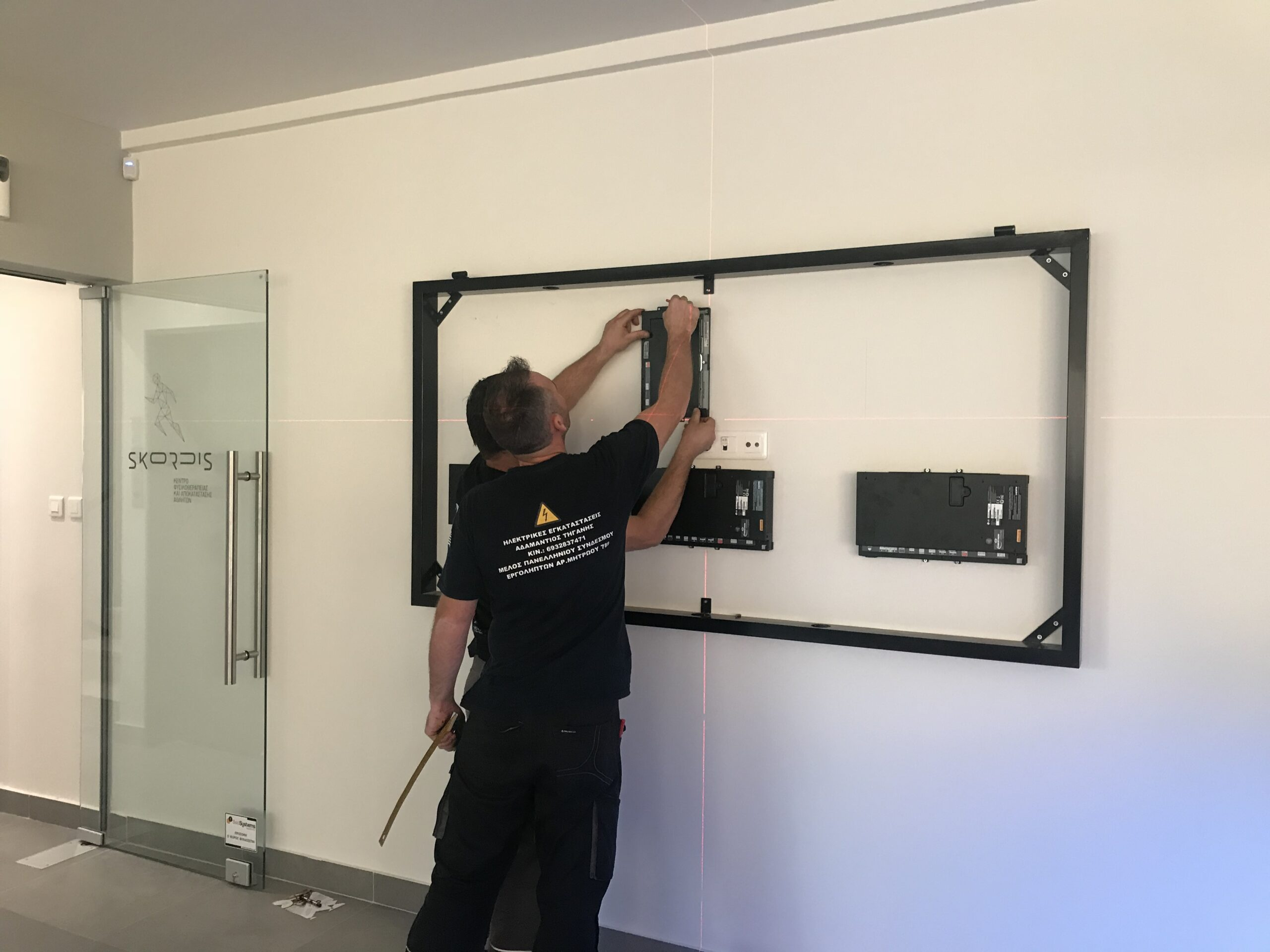 OLED video wall LG Hellas