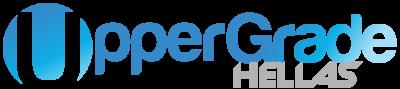 Uppergrade Hellas logo ανακαίνιση πρακτορείου οπαπ